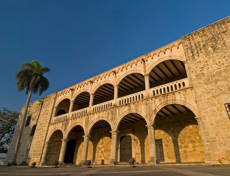 Alcazar de Colon, Santo Domingo.