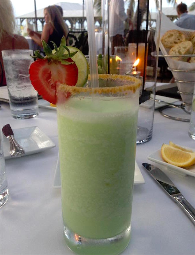 On boit un Key Lime Colada!