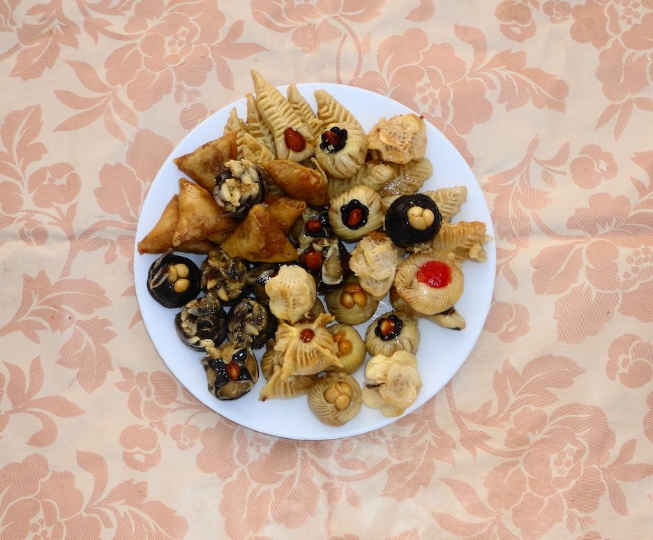 Un soir on s'est régalé de ces fameuses pâtisseries! Photo: Jade Pareyre