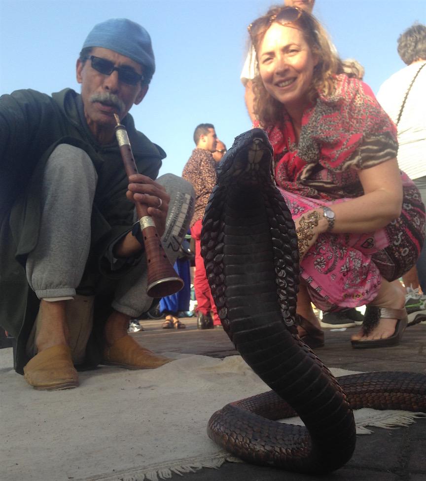 Le fameux Cobra d'Égypte