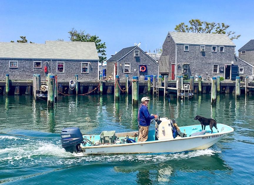 2B. Le port de Nantucket aujourd'hui